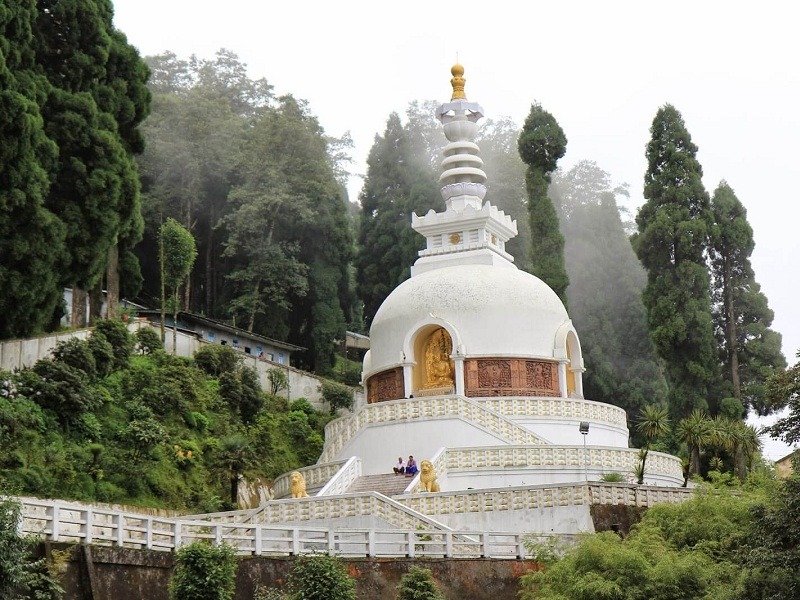 Peace Pagoda and Japanese Temple
